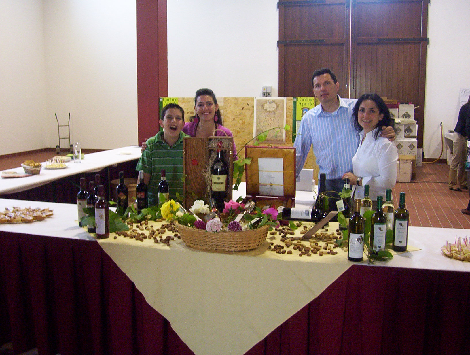 Sala degustazione vini tipici veneti Azienda Agricola Le Carline, Belfiore di Pramaggiore, Venezia