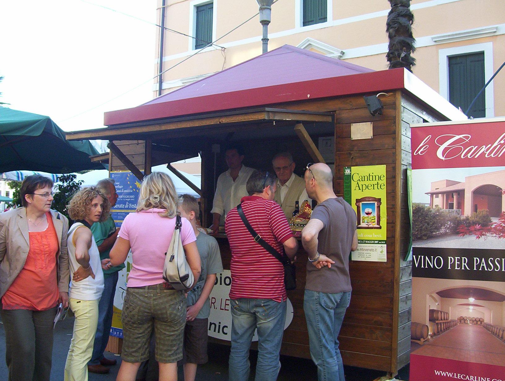 Degustazione vini DOC Lison Pramaggiore a Portogruaro, Venezia