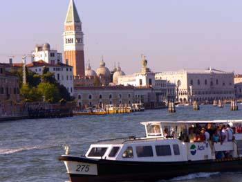 Il Bacino San Marco a Venezia
