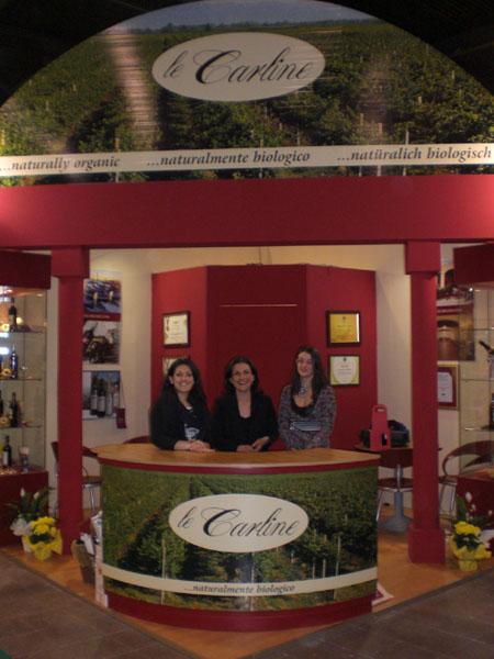 Lo Staff de Le Carline a Vinitaly 2008