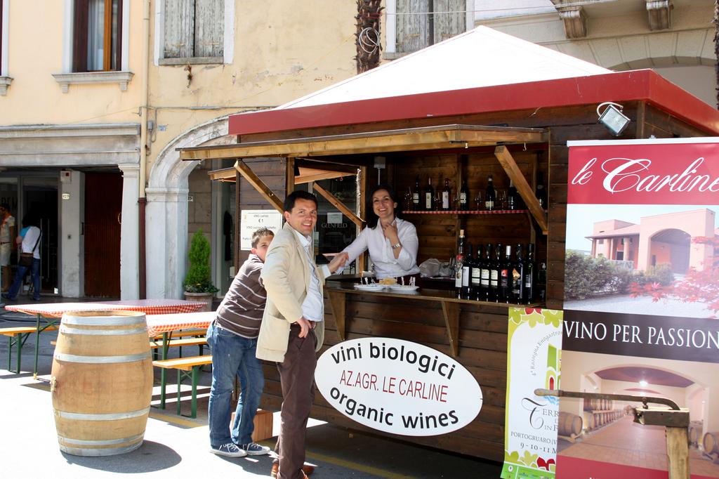 La casetta Le Carline per la degustazione dei vini tipici del Veneto