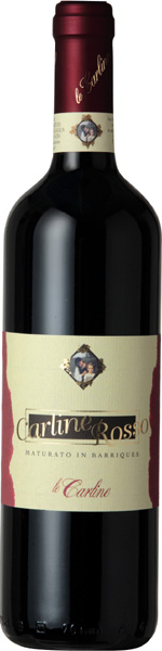 Carline barriques Red Wine from Italy