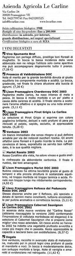 [2005] Guida ai Vini d'Italia BIO - Pierpaolo Rastelli - dettaglio