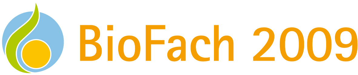 logo BIOFACH 2009, welt bio messe