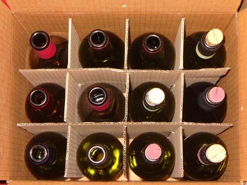 Degustazione vini da agricoltura biologica