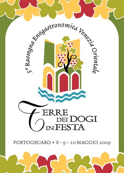 Locandina Terre dei Dogi in Festa 2009