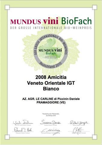 MUNDUSVini Premio Amicitia Le Carline