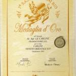 Medaglia d'oro - Carline Rosso 2003 IGT Veneto Orientale (Small)