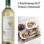 insalatina di mare e Chardonnay IGT Veneto Orientale