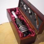 valigetta vino con accessori