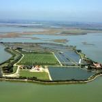 Panoramica dell'isola di Santa Cristina a Venezia