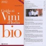 guida ai vini d'italia bio 2012