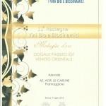 medaglia d'oro dogale biodivino