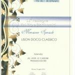 menzione speciale lison biodivino
