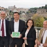 premiazione Bandiera Verde a Roma